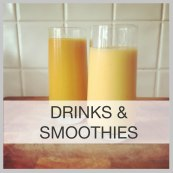 drinks menu frame