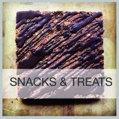 snacks menu frame