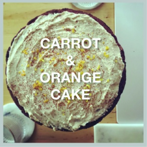 Carrot&Ornage cake tab