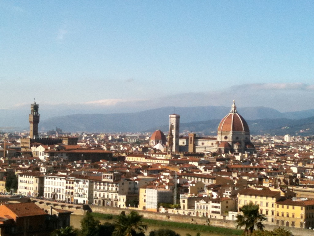 View from Piazzale Michelangelo...